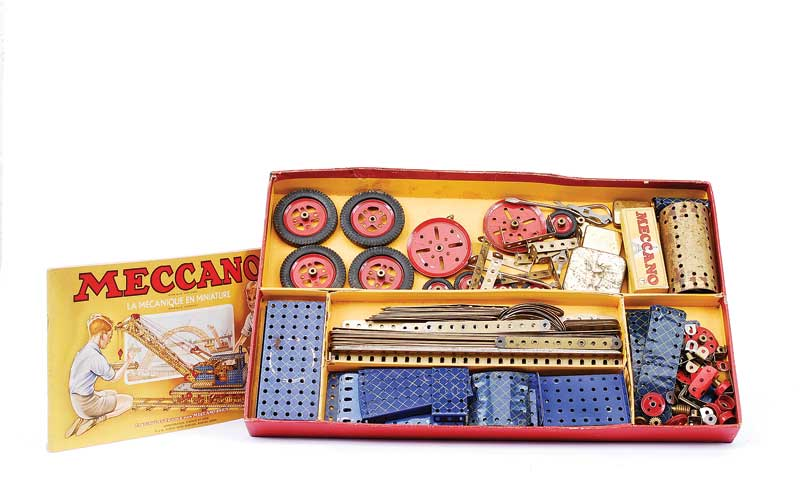 French Meccano Sets including No