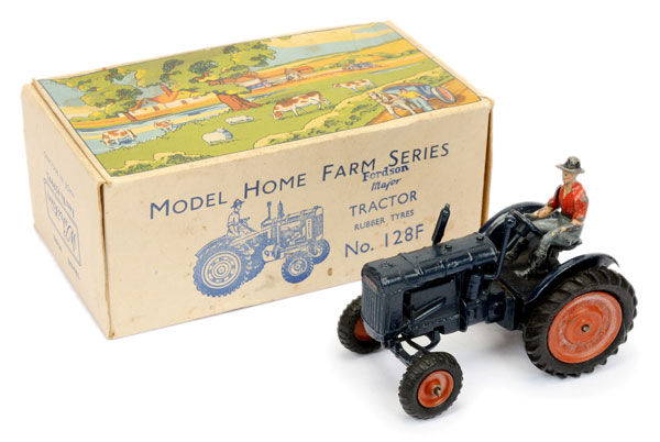 Britains - Set 128F Fordson Major Tractor, [1958 Issue]